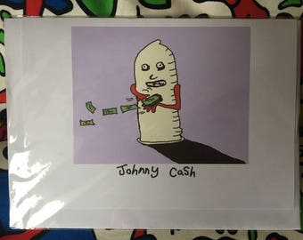Johnny Cash card