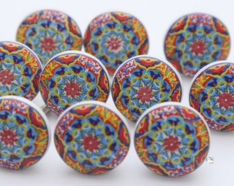 Colorful knobs | Etsy