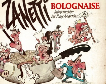 Zanetti - Bolognaise - 1986 - cartoon book