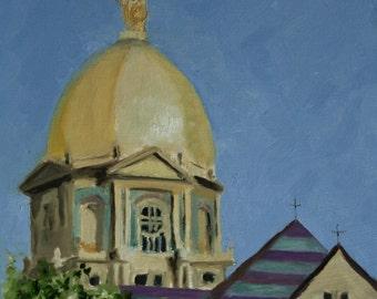 The Golden Dome - Fine Art Print