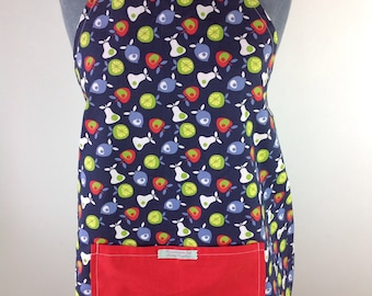 SALE!  SALE!  SALE!                            Reversible Adult Tuti Fruity Apron