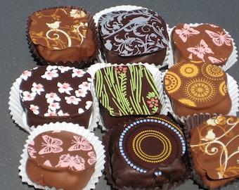 Box of 9 Handmade Chocolate Truffles From Montana