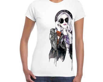 Nice, New Fashion Graphic DTG printed design for women and girls