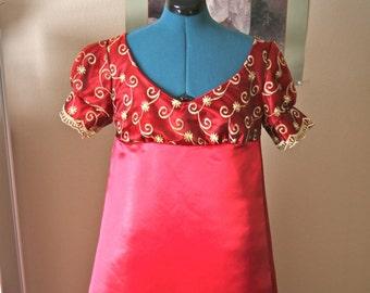 Custom Regency Gown