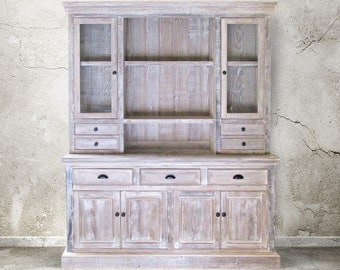 Sideboard, Hutch, Reclaimed Wood, Buffet, Handmade, Rustic