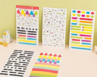 Decoration Marking Sticker Pack(5sheets)