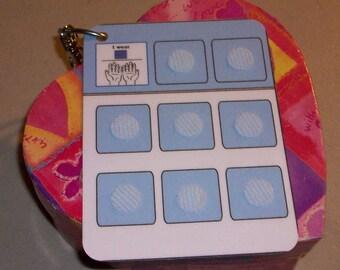 Travel Key Ring Pecs Autism Communication Board
