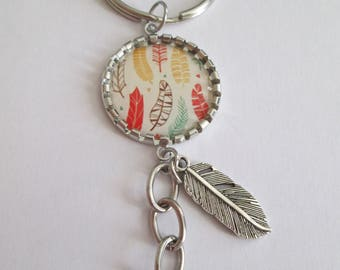 FEATHER KEYCHAIN