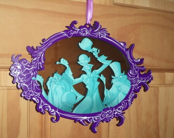 Haunted Mansion Hitchhiking Ghost ornament