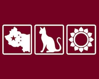 Grateful Dead China Cat Sunflower White Logo   Men's