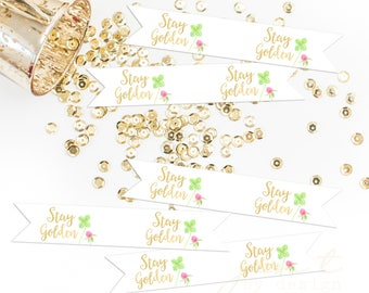 St. Patrick's Day Tags | St. Patrick's Tags | St. Paddy's Day Tags | Straw Tags