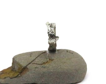 Lady liberty ring, Thumb ring, Statue of liberty ring, spoon ring, american ring, new york ring