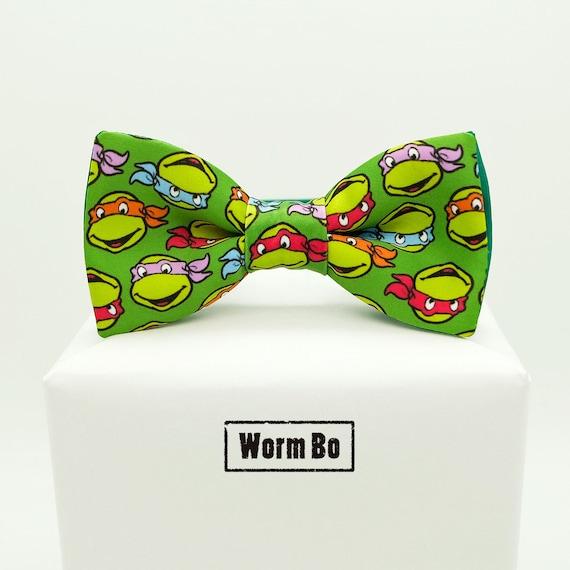 Teenage mutant ninja turtles bow tie green bowtie tmnt ccuart Gallery
