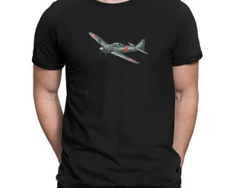 WWII Japanese Zero Fighter Plane Shirt