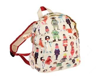 Personalised Workers Backpack, Mini Backpack, Workers Bag, Nursery Bag, Career Gifts, Personalised Worker Gift, Workers Rucksack, Policeman,