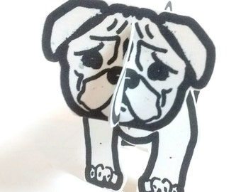 Dog Pug - Printable Toy