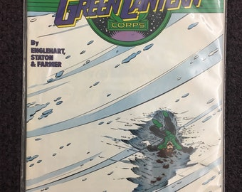 DC The Green Lantern Corps Comic Book 75 cents