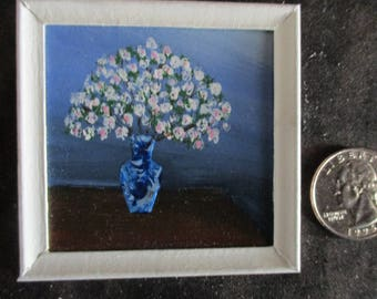 miniature painting, dollhouse accessories