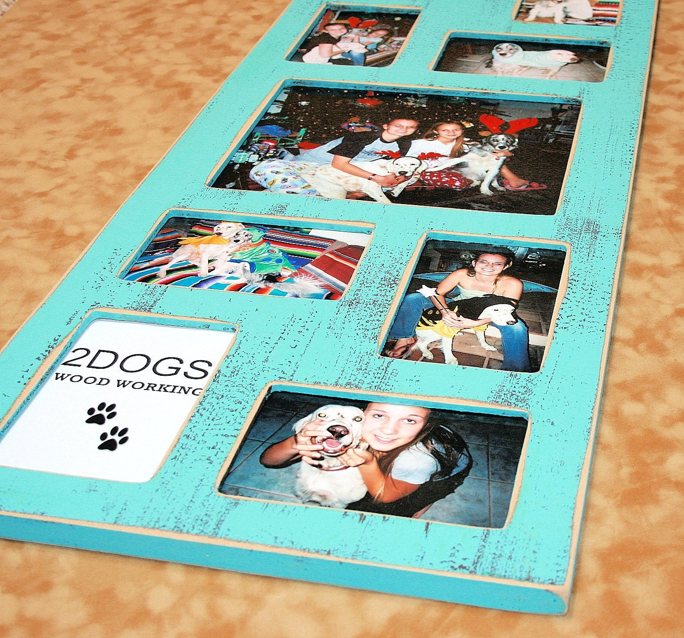 Collage picture frame multiple opening frame 9 opening for 1 collage picture frame multiple opening frame 9 opening for 1 8x10 and 8 4x6 multi opening colored weathered distressed photo frame jeuxipadfo Gallery