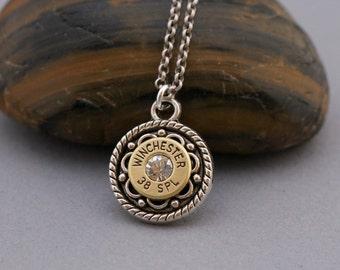 Choice 38 Special Bullet Necklace-Winchester 38 Spl-Federal 38 Spl Bullet Jewelry-Hornady 38 Spl Necklace-RP 38 Spl Necklace-Speer-Blazer