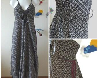 Maxi dress, pregnancy dress, Boho maxi dress, folk maxi dress, long ethnic dress, summer festival dress, hippie dress, hippie clothes,batik