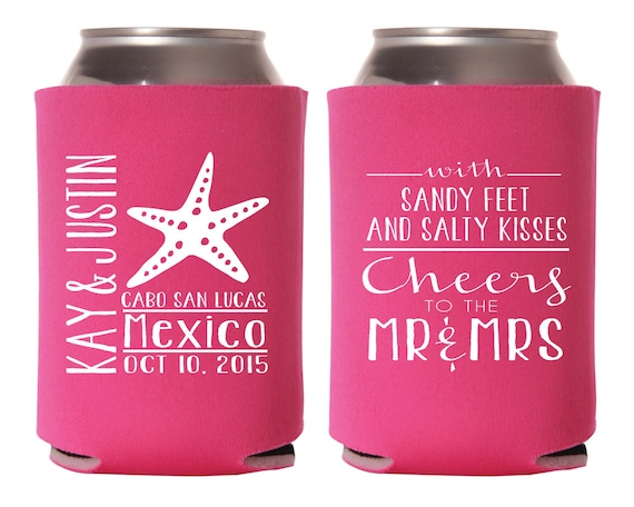 Destination Wedding Favors Mexico Wedding Party Gift Sandy