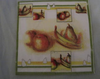 DECORATIVE FRUIT TOWEL