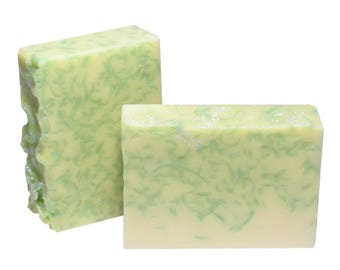 COCONUT LIME Soap, 5oz Bar, Unisex Fragrance, Natural Ingredients, Goat Milk Soap