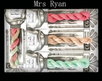 Mrs Ryan Cottage Garden Threads Stitchers Palette -CGT- 6 Strand Cotton embroidery thread- Hand Dyed Thread-Quilting Australia