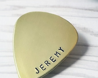 Personalized Guitar Pick Gift for Boyfriend  Gift for Fiance Musician Gift Plectrum Anniversary Gift for Husband