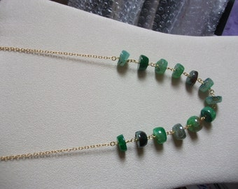 Shades of green Agate