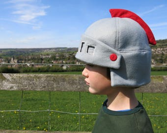 Felt children's Knights helmet