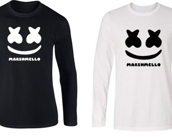 Marshmello DJ Longsleeve T Shirt