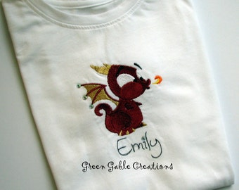 Baby Dragon Children's T-shirt (can be personalized!)