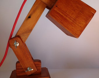 Recycled wooden Flexible pallet lamp