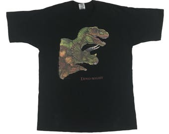 Vintage1997s Dino Might Size.XL FreeShipping.