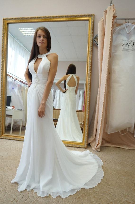 wedding dress Penelopa greece wedding dress empire wedding