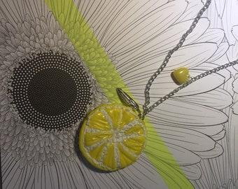 Necklace lemon