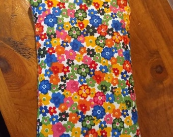 Bright floral eyeglass case