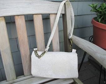 Cork Purse, Cork Handbag, Cork Shoulder Bag by DarkHorsesDesign