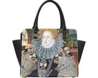 Elizabeth I Classic Shoulder Handbag