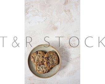 Styled Stock Photography, Flat Lay Background, FlatLay Stock Image, Flat Lay Chocolate Chip Cookies, Chocolate Chip Cookies Flat Lay