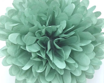 CEDAR GREEN Tissue Paper Pom