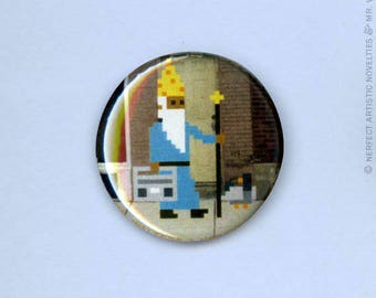 "Street Wizard 1"" Pin-Back Button"