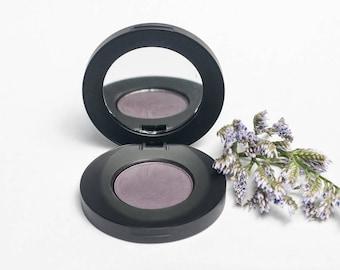 Violet Verbena Matte Pressed Mineral Eyeshadow - Dark Purple Eye Shadow - Natural - Organic - Cruelty Free - Sensitive Skin Safe