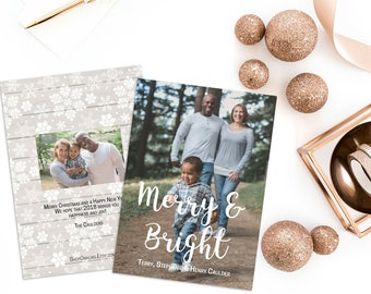Photo Holiday Card - Vertical (Sets of 25)