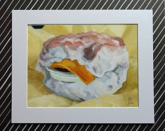"""Fine Art Print """"Ron"""" 8x6 matted to 10x8"""