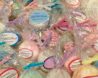 Wholesale Bath Bomb,Stocking Stuffer's, Bridal Shower Gifts, Christmas Gifts, Party Favors, Bulk Bath Bomb w/ Essential or Fragrance Oils!