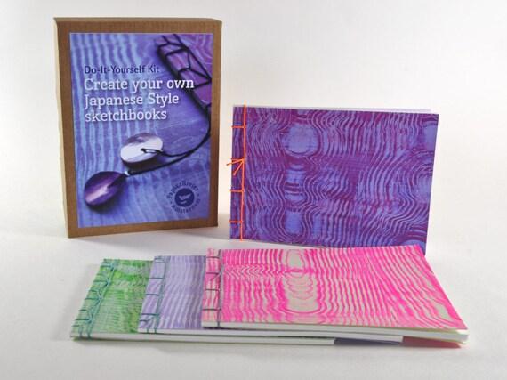 Diy japanese bookbinding kit craft kit four japanese adelo a tus favoritos para volver ms adelante solutioingenieria Choice Image