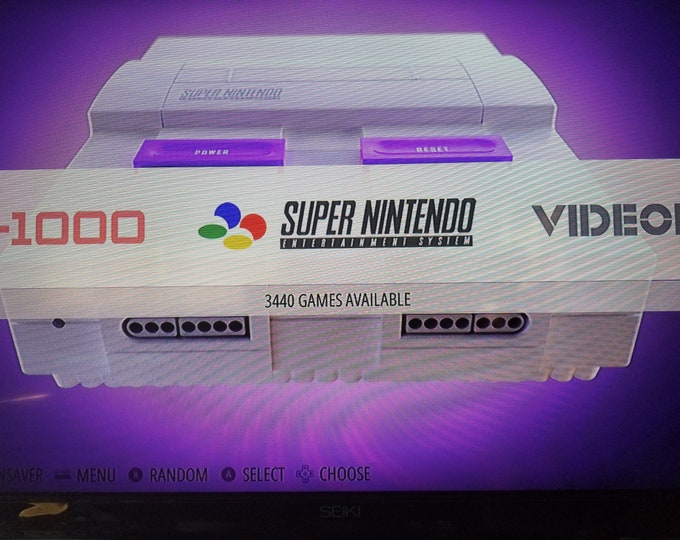 Over 100,000 Games RetroPie Video Game System - Kodi & Pixel Desktop Installed - SNES Style Case - Plug and Play - NES, SNES, Sega, Atari